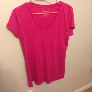 Liz Lange for target XL pink maternity tee shirt