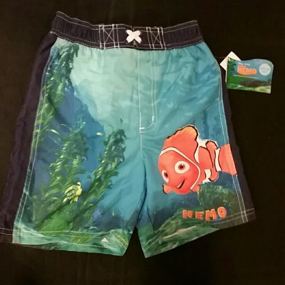 37c090a297 Disney Swim | Finding Nemo Boys Trunks Suit 5t | Poshmark