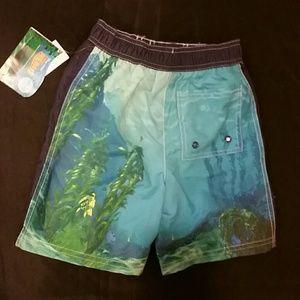 259a5ffaf9 Disney Swim - Finding Nemo boys swim trunks swimsuit 5T Disney