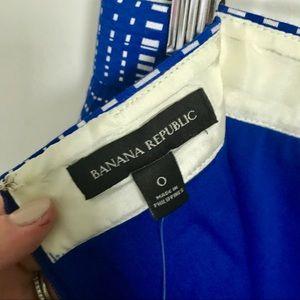 Banana Republic Skirts - Banana Republic Blue and White Pencil Skirt Sz. 0