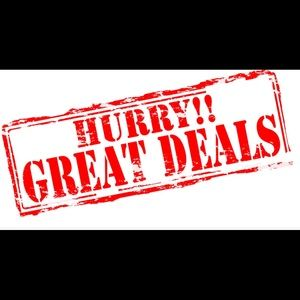 GREAT DEALS TODAY!!!!