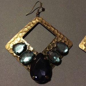 Zara Vintage Jewel Earrings
