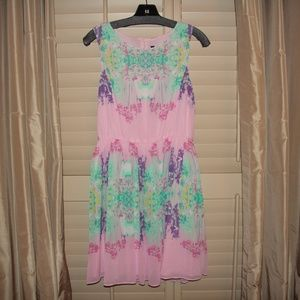 View Walter Baker Pink Pastel Floral Dress 6