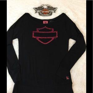 NWT XL Harley Davidson Pink Top