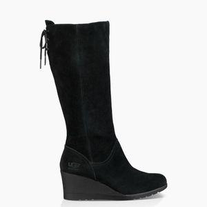 7934b1371ba UGG Shoes - NEW UGG Australia Dawna boho Suede Wedge Boots