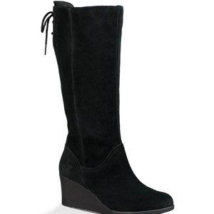 NEW UGG Australia Dawna boho Suede Wedge Boots