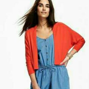 NWT 3/4 Length Dolman Sleeved Open-Front Cardigan
