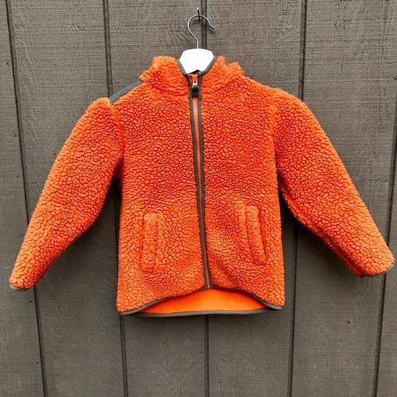 c851b1372 Hanna Andersson Other - Hanna Andersson kids orange Sherpa fleece jacket
