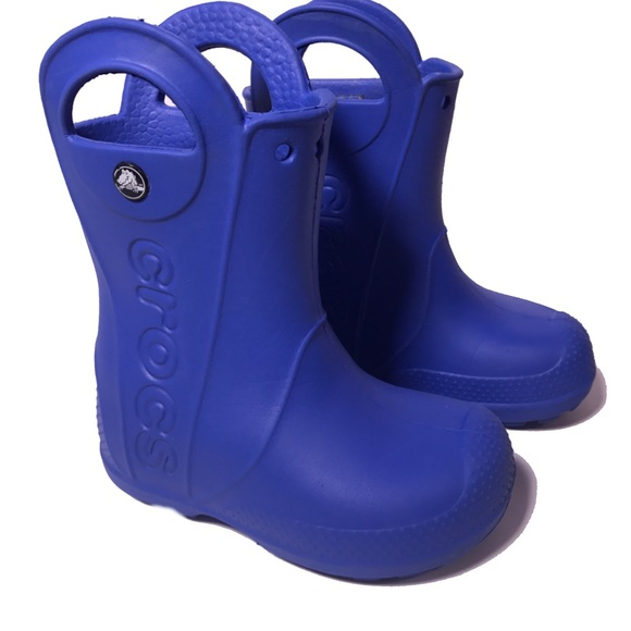 c9873461bb7ef CROCS Other - CROCS kids handle it rain boots size toddler 9.