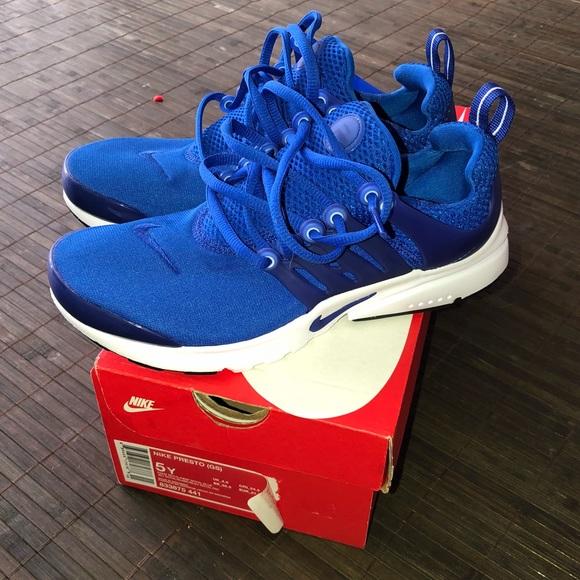 Royal Blue Youth Nike Presto | Poshmark