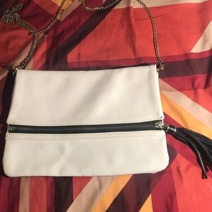 White&Black H&M Clutch