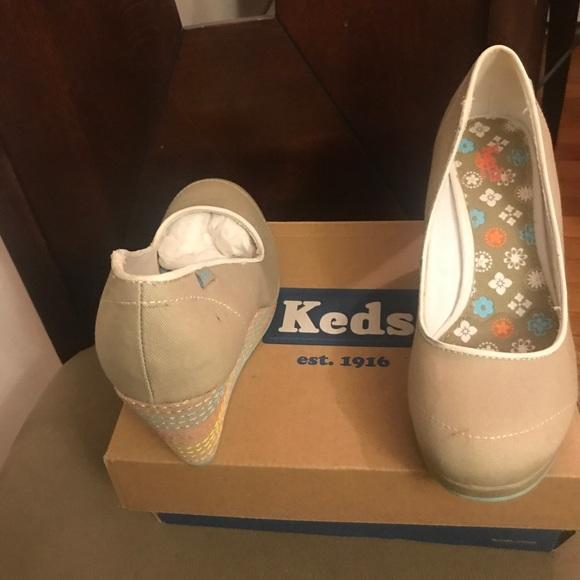 dc0d4d43dae Keds Shoes - Keds Dallas Polka Dot wedge