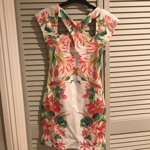 Lovers and Friends tropical dress