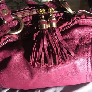 Handbags - Bill Blass Burgendy/Rasberry FABULOUS Purse