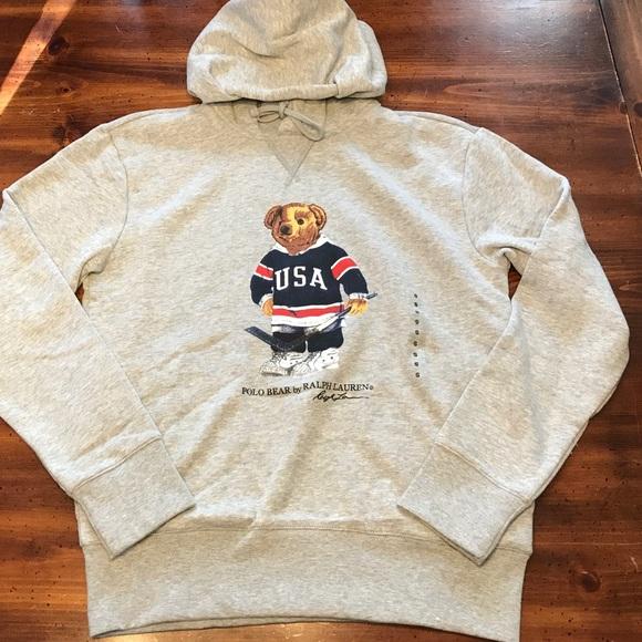 9c419506 Polo by Ralph Lauren Shirts | Polo Ralph Lauren Mens Hockey Bear ...
