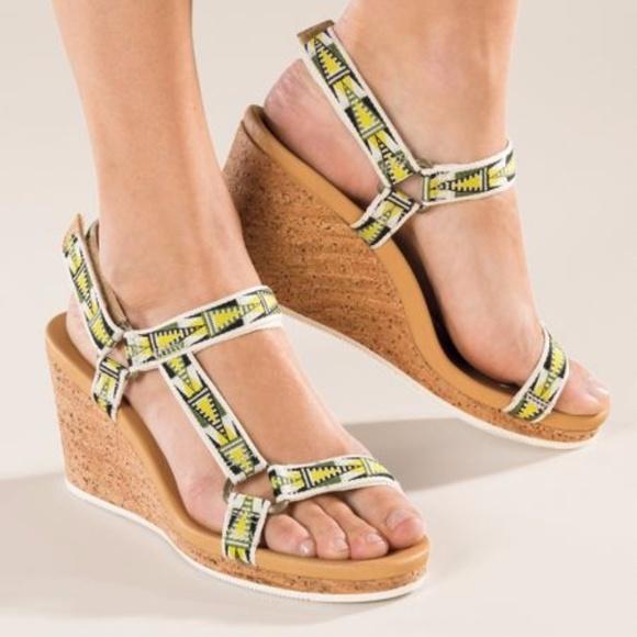 e009591014c2 Teva shoes high heel sandals size poshmark jpg 580x580 Teva high heels