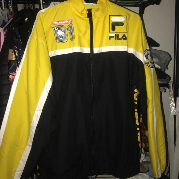 771b2e3efddf Fila Jackets & Coats | X Sanrio Racing Jacket | Poshmark