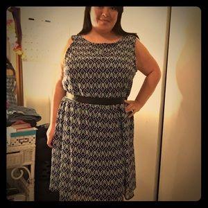 Fun print dress from Target