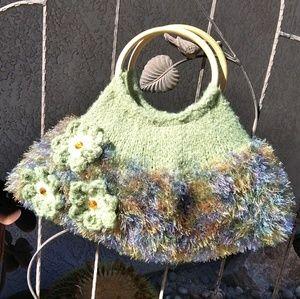 🚺Handmade knitted satchel