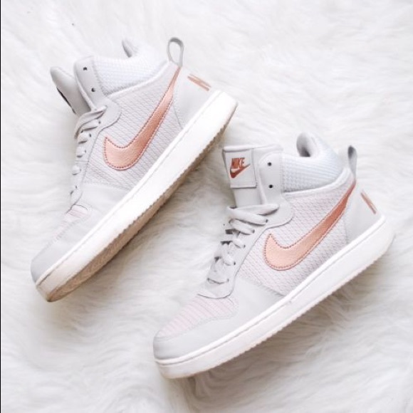 new arrival abe5a d83a6 ... Nike Rose Gold Hightops. M5a07f1be3c6f9fc3e20bb9f0
