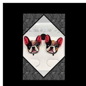 Puppy Earrings