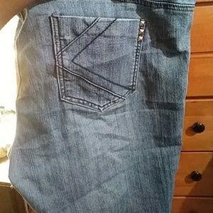 Kim kardashian blue jeans