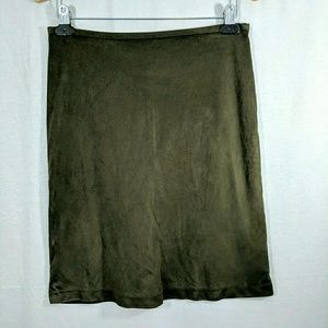 Mossimo Sueded Pencil Skirt