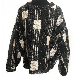 Vintage 90's cable knit sweater