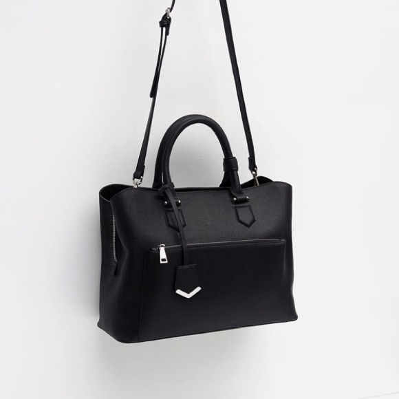 bd3048ff5ab7 Zara Office City Bag. M 5a07fbe92fd0b7e2a7105a35