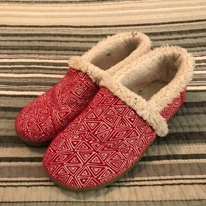 Toms House Slippers, Size 3