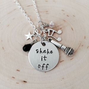 Jewelry - Shake it off charm necklace