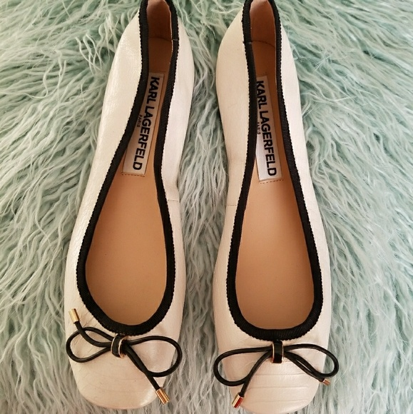 b8a2f9cab162 Karl Lagerfeld Shoes - Karl Lagerfeld ballet flats size 6