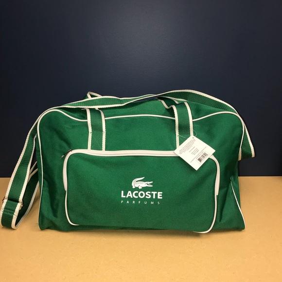 8531eab42 Lacoste Bags | Duffel Gym Bag | Poshmark