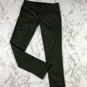 Hurley Army Green Skinny Pants