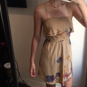 100% silk Wilfred dress from Aritzia.
