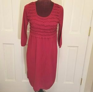 NEW DIRECTIONS Red Sweater Dress