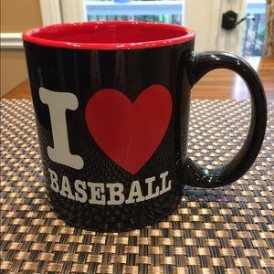 Other - 😎 3 for $10‼️ - I ❤️ Baseball oversized mug