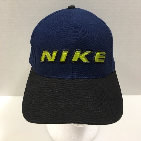 5a4835371ddc0 Vintage Nike Spell Out Dad Cap