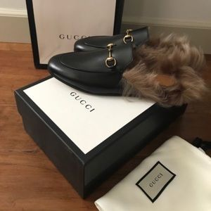 Gucci Princetown Fur Lined