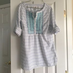 Vineyard vines embroidered tunic