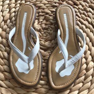 Liz Claiborne Linda leather sandals SZ 8