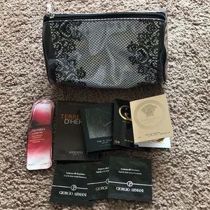 High-end Fragrance Set + Make Up bag