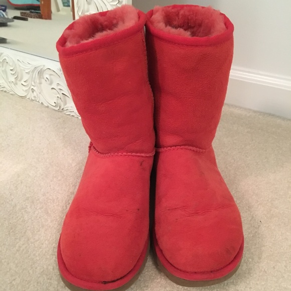 36a94aa80fe UGG Shoes | Orange Classic Boots | Poshmark