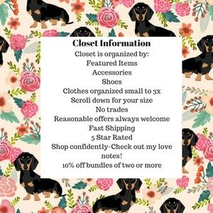 Closet Information