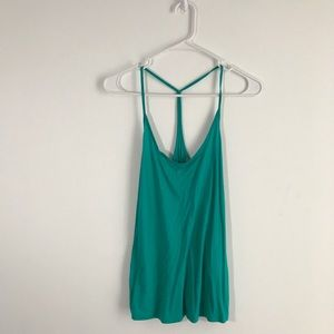 Tops - FREE WITH PURCHASE! F21 Teal Tank Top