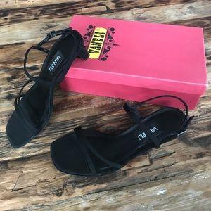 Vaneli Wilva Black Pesca Shoes