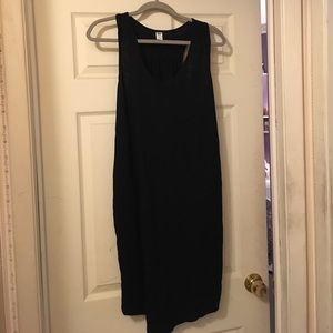 Black Old Navy bathing suit cover up