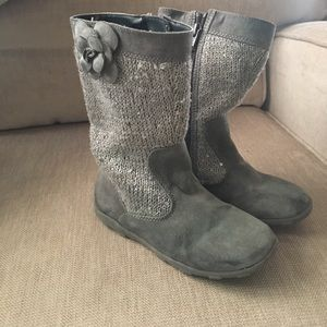 Other - EUC toddler girl sparkle boots