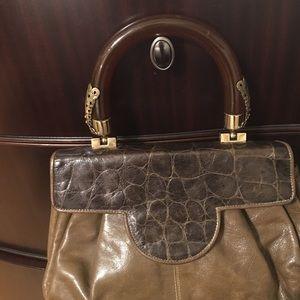 Roberto ricci vintage purse leather