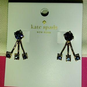 Kate Spade 2 in 1 earrings